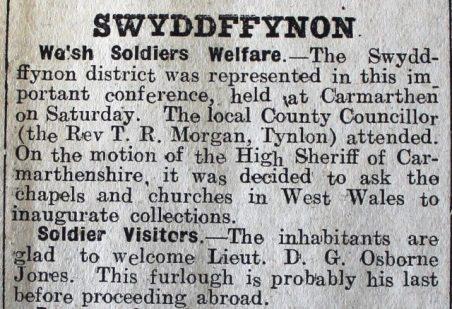 1916 week 90 CN 21-4-16 Swyddffynnon