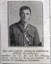 1916 week 94 CN 19-5-16 George Osborne Jones Swyddffynnon