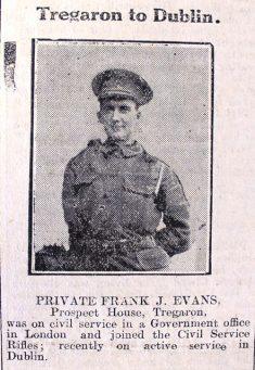 1916 week 94 CN 19-5-16 Tregaron to Dublin