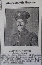 1916 week 96 CN 2-6-16 Aber Sapper