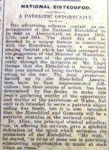 1916 week 96 CTA 2-6-16 Eisteddfod