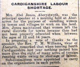 1916 week 96 CTA 2-6-16 Labour shortage