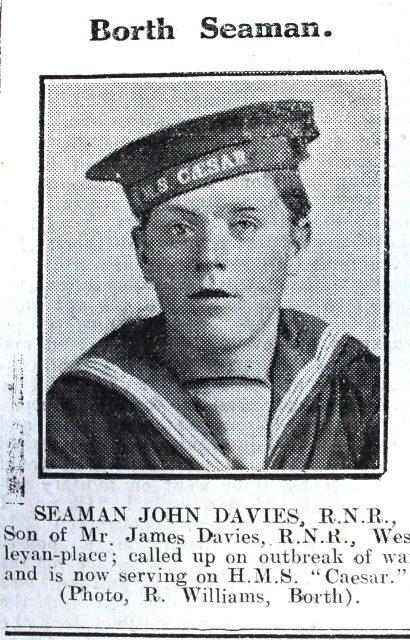 1916 week 101 CN Borth Seaman