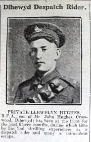 1916 week 101 CN Dihewyd Despatch Rider