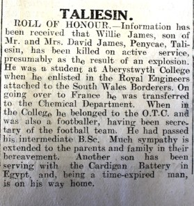 1916 week 101 CN Taliesin