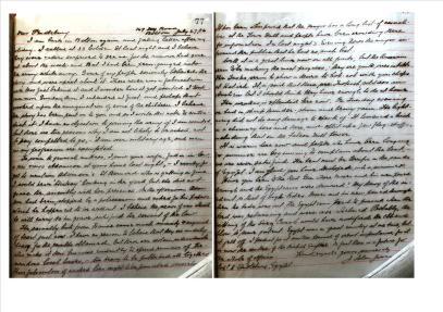 week 104 Letter to Pendlebury fro J Islan Jones 2
