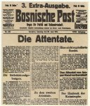 Special edition of 'Bosnian Post'