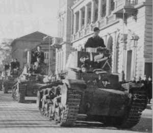 Bulgarian Skoda LT-35 tanks