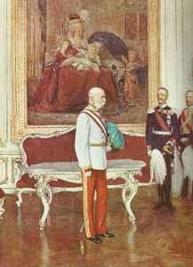 Emperor Francis Joseph of Austria-Hungary