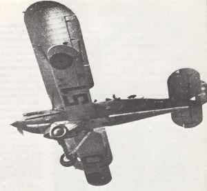 Fairey Fox VI biplane of the L'Aeronautique Militaire Belge