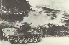 M18 Hellcat in combat in Italy