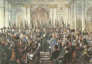 Proclamation of the German Empire in 1871