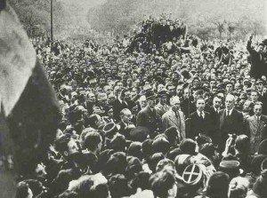 General de Gaulle enters Paris