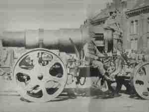 Austro-Hungarian 12in Skoda Howitzer