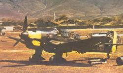 Ju 87B Stuka on a Greek airfield