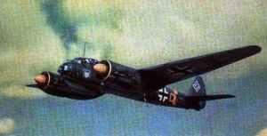 Junkers Ju 88 of IIIrd group of KG 51
