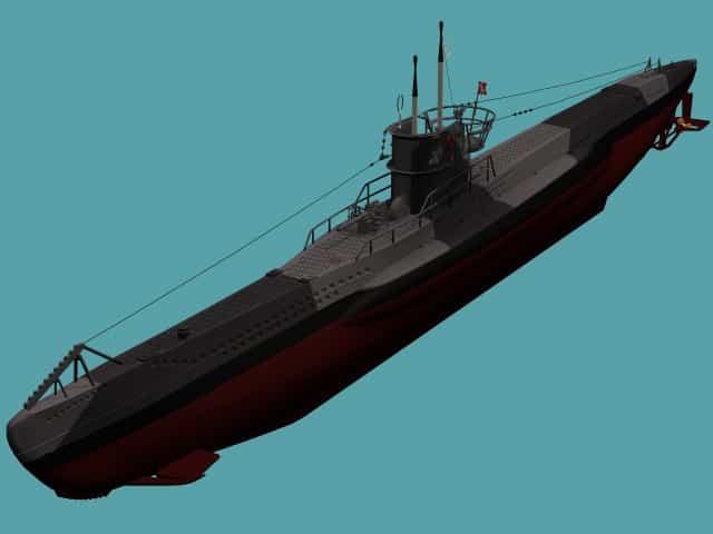 3D model Type VIIB