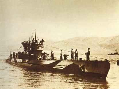 U-565 from the submarine class Type 7C