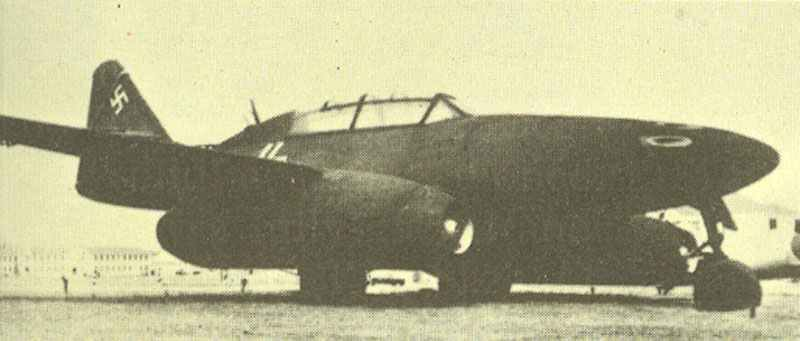 Me 262 B-1a night fighter