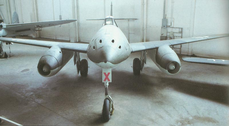 Me 262 museum plane