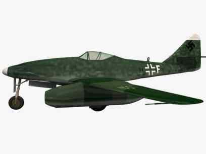 3d model Me 262 A1a