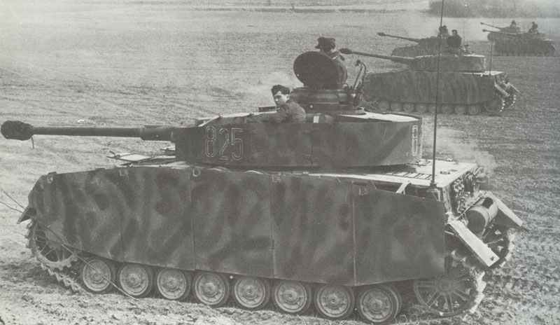 PzKpfw IV Ausf H in Normandy
