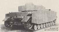 backside of a PzKpfw IV H