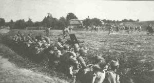 Austro-Hungarian assault in Galicia