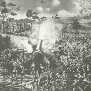Japanese siege artillery Tsingtao