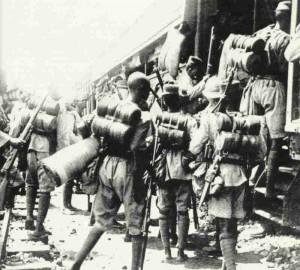 Troops of a Nigerian Regiment