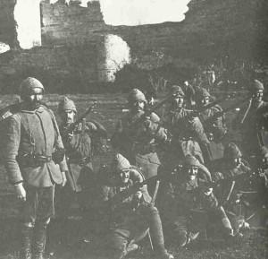 Turkish troops 1914