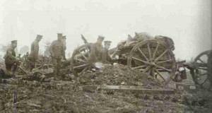 British 18-pounders at Ypres