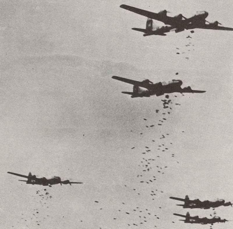 B-29 Superfortress bombing Yokohama