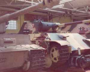 Panther tank RAC Tank Museum