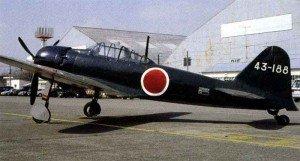 A restored Mitsubishi A6M5 Reisen.