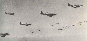 Spitfire formation 1944