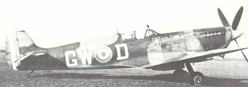 Spitfire IXB, No.340 Squadron