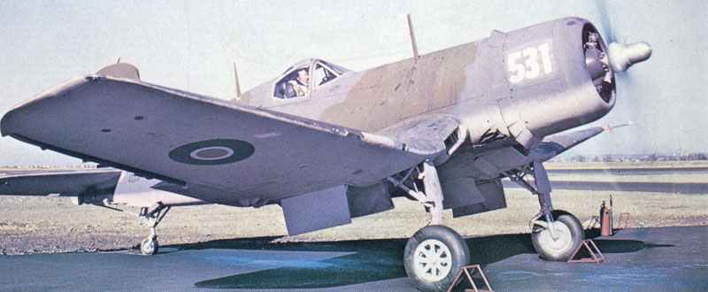 Royal Navy Fleet Air Arm Corsair