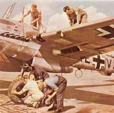 Me 110 D long range fighter