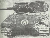 Panther tank as M10 tank destroyer
