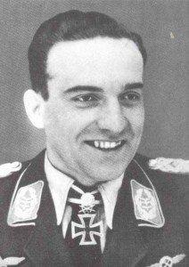 Stuka pilot colonel Hans-Ulrich Rudel