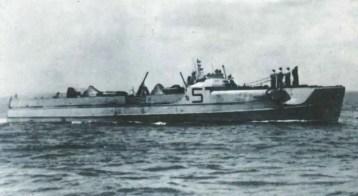 E-boat of the S100 class