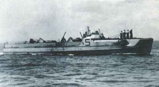 E-boat of the S100 class