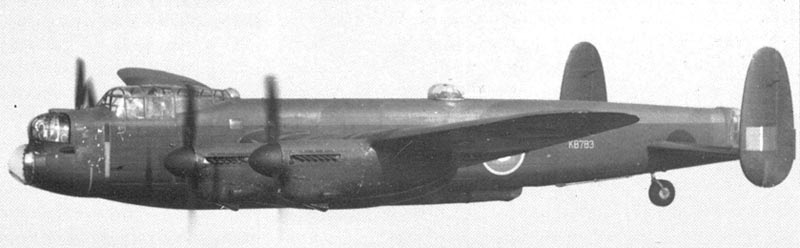 Lancaster with 12000-lb bomb