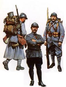 French infantry 1915-18