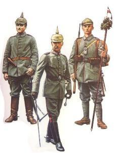 Bavarian soldiers