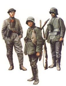 German soldiers 1918