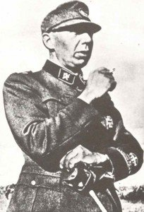 Sturmbannführer Quist of Norge volunteer bataillon