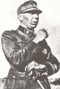Sturmbannführer Quist of Norge volunteer bataillon