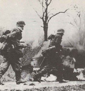 Grenadiers of 2 SS division Das Reich